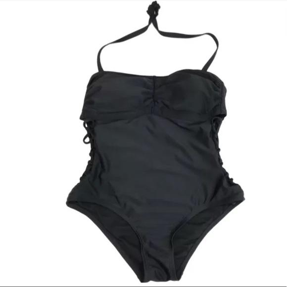 b4842cb13f2 Ava & Viv Swim | Ava Viv One Piece Suit Black Plus Size 14w | Poshmark